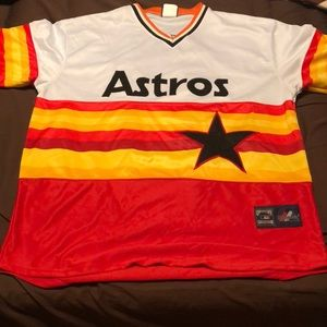 🔥🔥Throwback Houston Astros Nolan Ryan Jersey🔥🔥